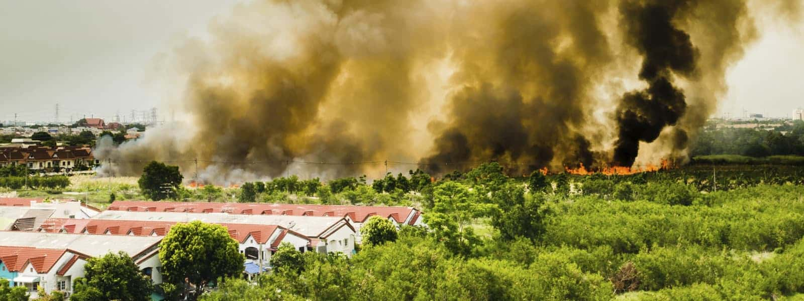 Feuer - Brand - Häuser