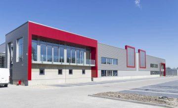 Firmengebäude - Gewerbeversicherung Gewerbe