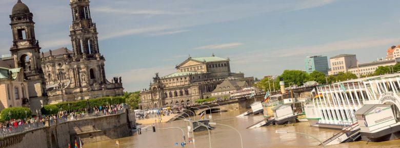 Hochwasser an der Elbe – Dresden versinkt in den Fluten (I)