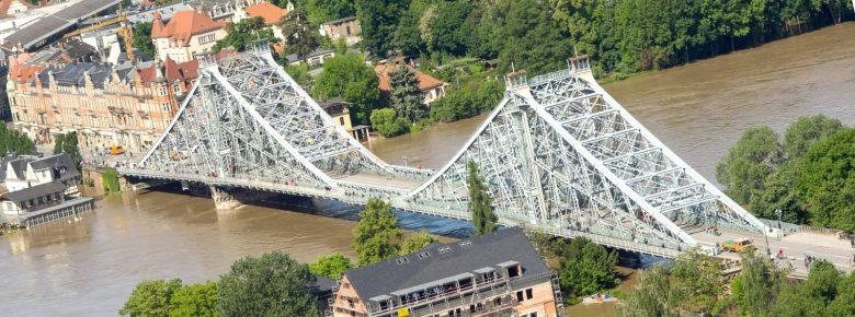 Hochwasser an der Elbe – Dresden versinkt in den Fluten (III)
