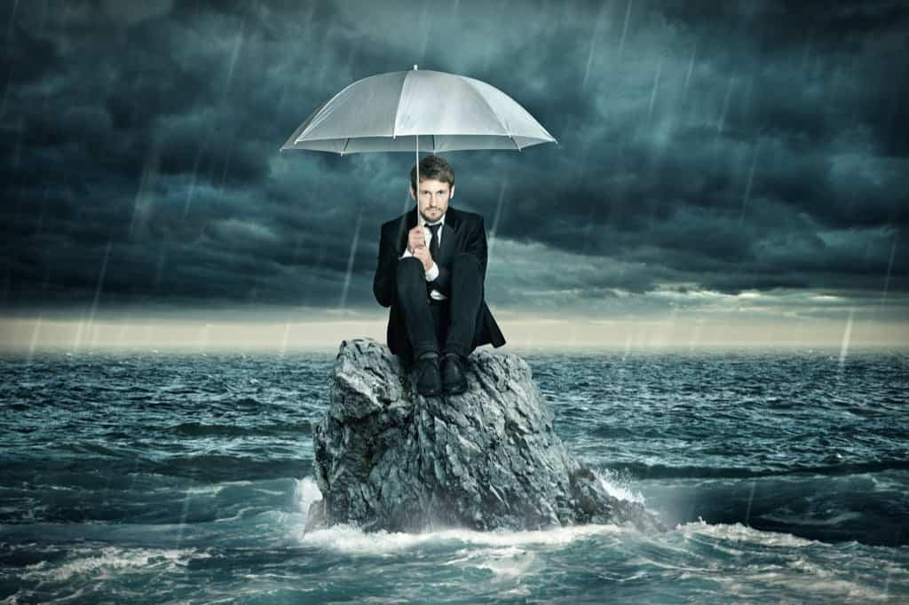 Unwetter - Überschwemmung
